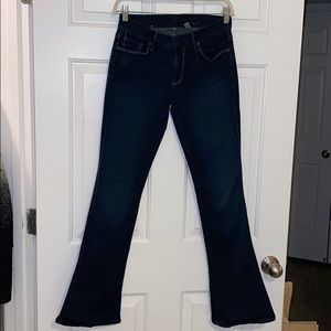 """7 for all mankind """"Lexie"""" petite bootcut jean 27"""